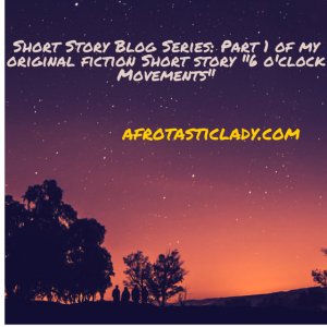 Short Story Blog Series