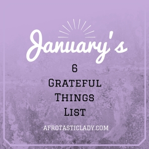 Grateful Things List
