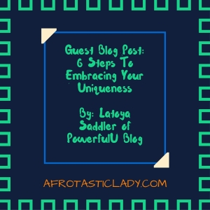 Guest Blog Post by Latoya