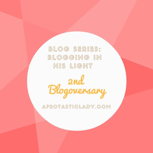 2nd Blogoversary